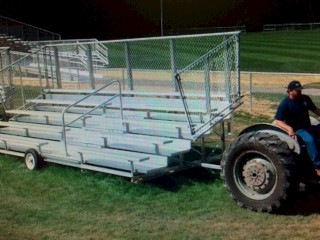 Deluxe Transportable Bleachers