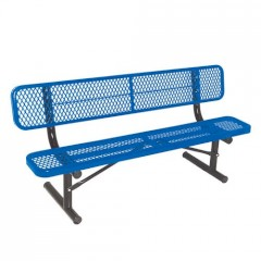 Thermoplastic Coated Benches