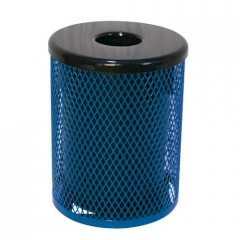 Thermoplastic Trash Receptacles