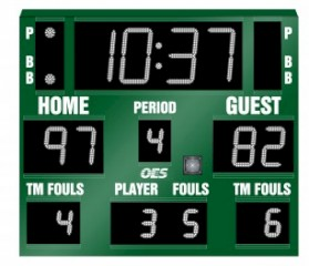 Scoreboard - Basketball, Volleyball, Wrestling