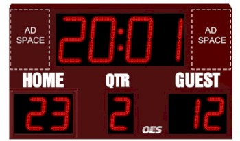 Scoreboard Football, Field Hockey 8240