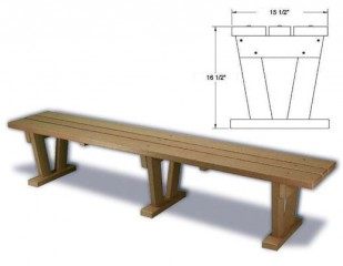 Wide Bench
