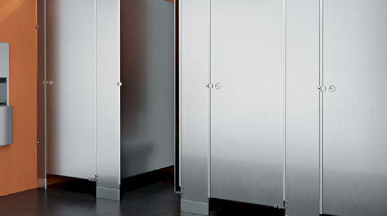 ASI Stainless Steel Partitions